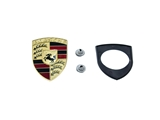 90155921020KIT AAZ Preferred Emblem; Hood Emblem, Seal and Speed Nuts; KIT