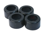91133300900BHD URO Parts Suspension Spring Plate Bushing Set; Heavy Duty Rubber Version; 80-85 Shore A Hardness