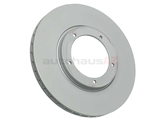 91135104120 Zimmermann Coat Z Disc Brake Rotor; Front; Vented