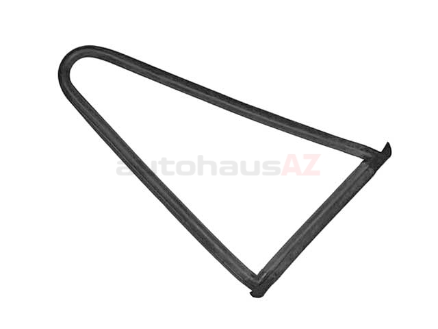 91154303601 O.E.M. Side Window Seal; Right Rear Stationary Quarter Glass Seal