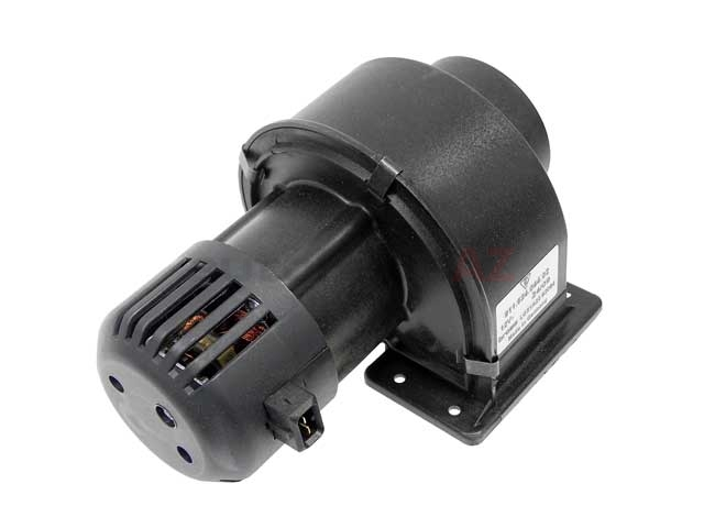 91162404402 Genuine Porsche Blower Motor; Complete Motor and Fan Assembly; Right Trunk Compartment
