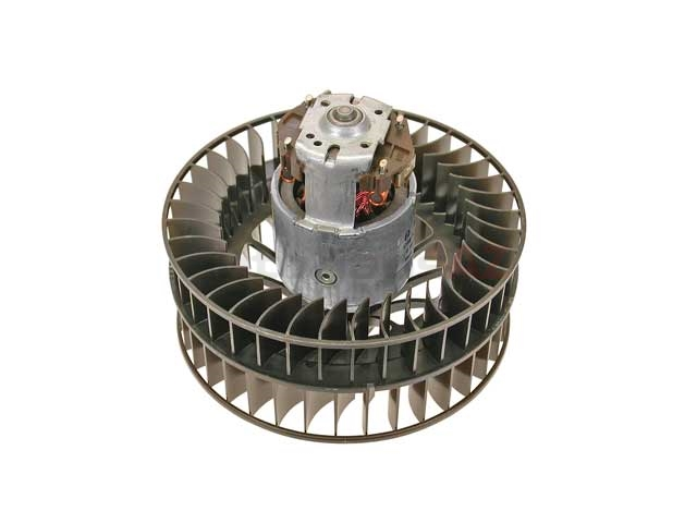 91162490600 Genuine Porsche Blower Motor; Complete Motor and Fan Assembly for AC Evaporator