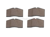 92835194903 Textar Brake Pad Set; Front; OE Compound