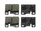 92835295102 Textar Brake Pad Set; Rear OE Improved Compound