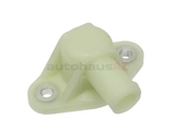 94410631300 O.E.M. Water Pump Plug; Block-Off Plate for Updated Water Pump; White Plastic