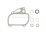 94410716598 German Oil Cooler Seal; Complete Gasket Set for Oil Cooler/Housing