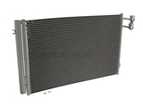94872 Nissens A/C Condenser; With Receiver Drier