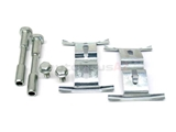 95535195900 ATE Disc Brake Hardware Kit; Front