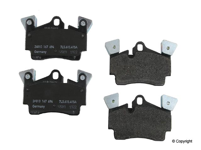 95535293950OE Genuine Brake Pad Set; Rear