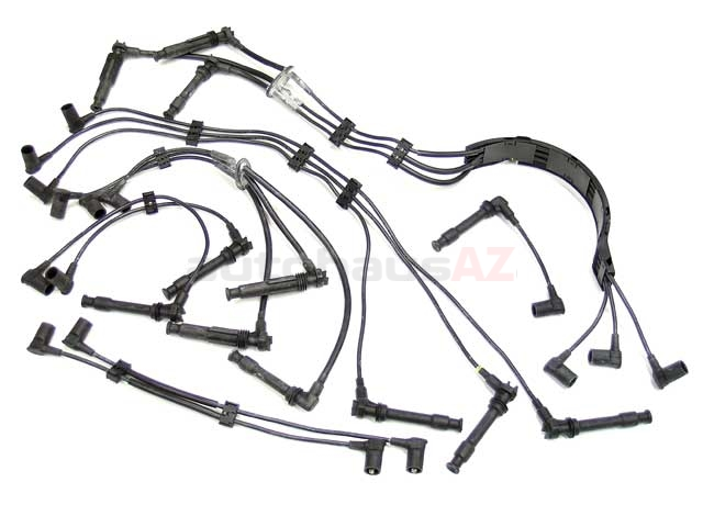 96460905000 Beru Spark Plug Wire Set; OE Type with Coil Wire