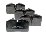 96535293904 Textar Brake Pad Set; OE Compound, Front