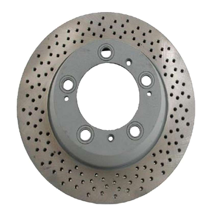 98635240301 Sebro Coated Disc Brake Rotor; Rear; Vented