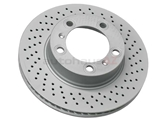 98735140201 Zimmermann Coat Z Disc Brake Rotor; Front Right; Directional