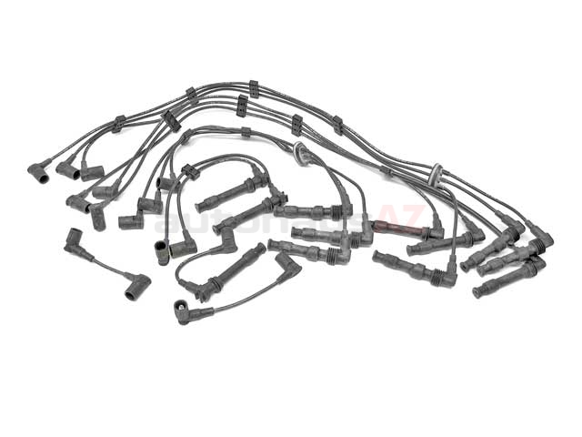 99360905000 Beru Spark Plug Wire Set; OE Type with Coil Wire