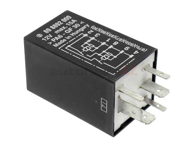 99361522700 OE Supplier Fuel Pump Relay; DME Relay