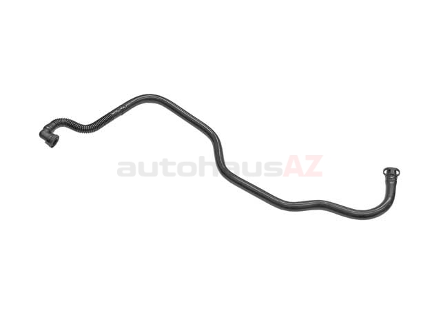 99610714755 Genuine Porsche Crankcase Breather Hose; Oil Separator Vent Line; Lower