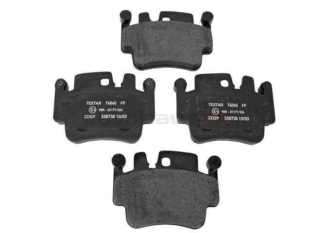 99635294902 Textar Brake Pad Set; Front OE Compound