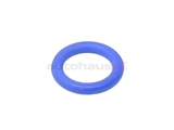 99970100640 VictorReinz Engine Crankcase Bolt O-Ring; Case Stud O-Ring; Blue Silicone