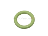 99970711240 OE Supplier Oil Return Tube Seal; Outer O-Ring; Green Viton