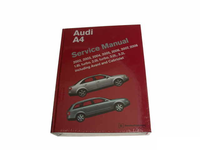A408 Bentley Repair Manual
