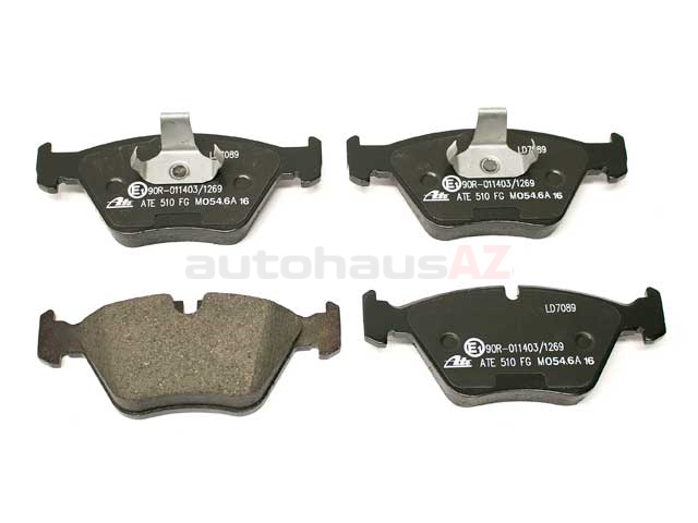 34116761280 ATE Ceramic Brake Pad Set