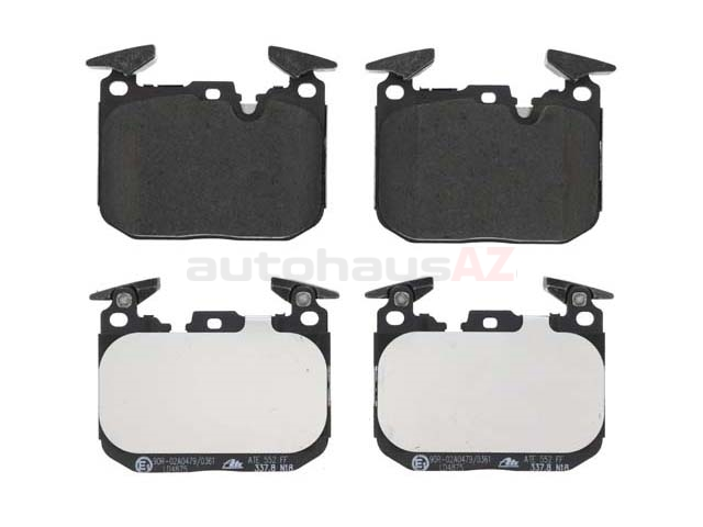 34116878882 ATE Ceramic Brake Pad Set; Front