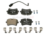 4G0698451C ATE Ceramic Brake Pad Set
