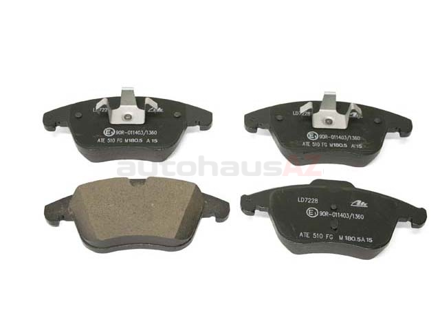 LR027309 ATE Ceramic Brake Pad Set; Front
