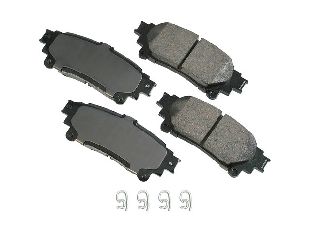 ACT1391 Akebono ProACT Brake Pad Set