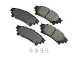 ACT1391 Akebono ProACT Disc Brake Pad