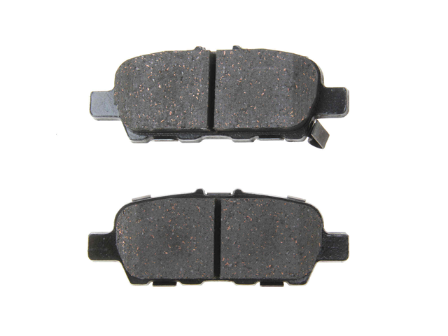 AD1393 Advics Brake Pad Set; Rear