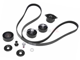 ADK0029P Continental ContiTech Serpentine Belt Drive Component Kit; Manual Trans