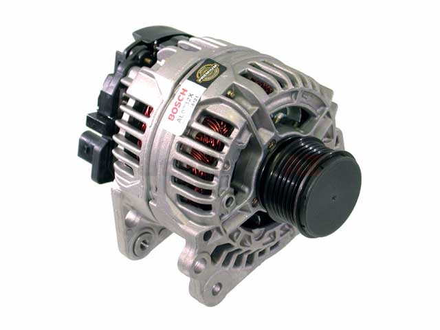 AL0732X Bosch (OE Reman) Alternator; 90 Amp w/ Clutch Pulley