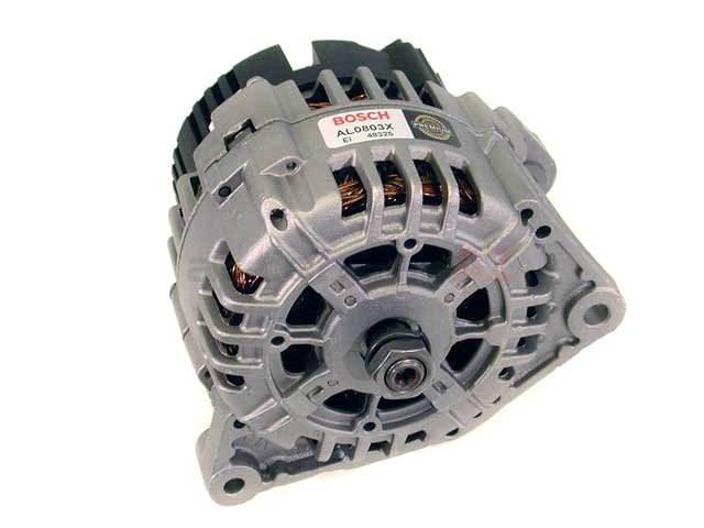 AL0803X Bosch (OE Reman) Alternator; 120 Amp