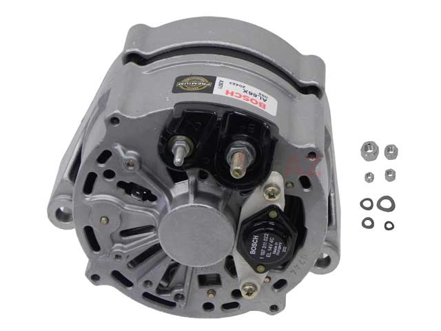 AL66X Bosch (OE Reman) Alternator; 80 Amp with Stud Terminal Connections