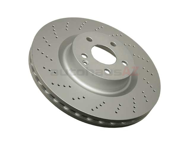 000421151207 ATE Coated Disc Brake Rotor