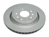12762291 ATE Coated Disc Brake Rotor; Rear; Vented
