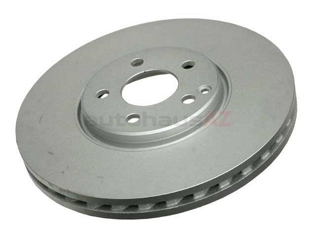 211421111264 ATE Coated Disc Brake Rotor; Front; Vented 330x32mm