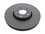31400893 ATE Coated Disc Brake Rotor; Front