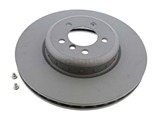 34106797606 ATE Coated Disc Brake Rotor