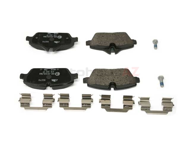 34106863292 ATE Brake Pad Set; Front
