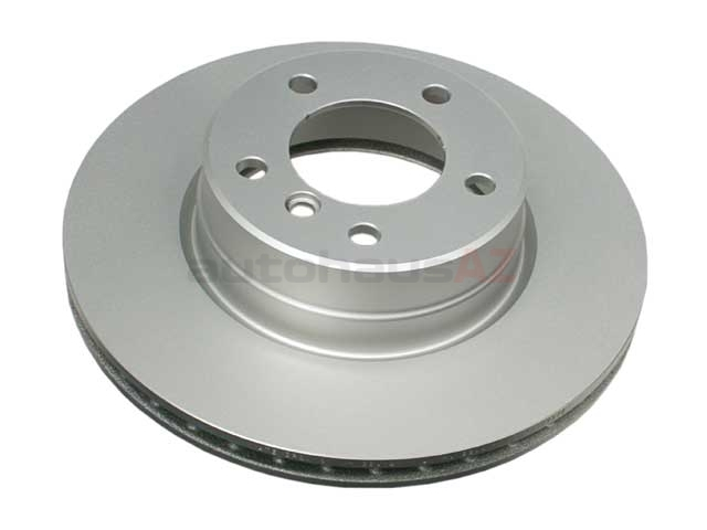 34116864059 ATE Coated Disc Brake Rotor; Front; Vented 310x24mm