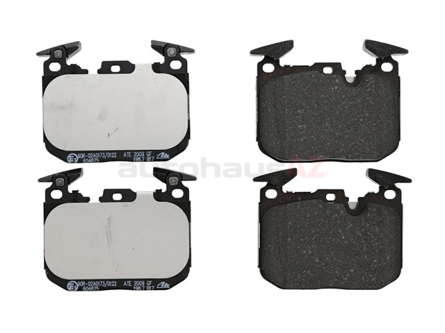 34116878876 ATE Brake Pad Set; Front