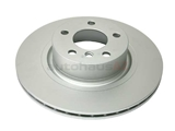 34206886482 ATE Coated Disc Brake Rotor