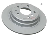 34216756537 ATE Coated Disc Brake Rotor