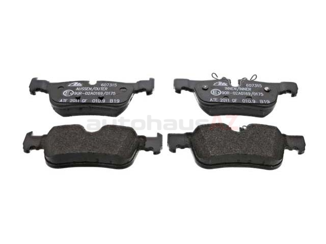 34216859917 ATE Brake Pad Set; Rear