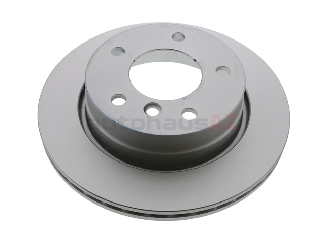 34216864903 ATE Coated Disc Brake Rotor; Rear; Vented 276 x 19mm