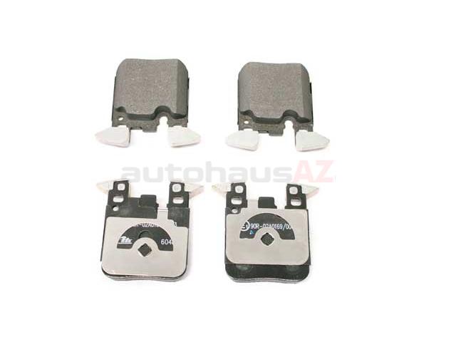 34216887576 ATE Brake Pad Set; Rear
