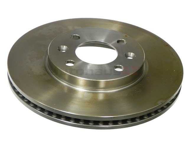4002143 ATE Coated Disc Brake Rotor; Front