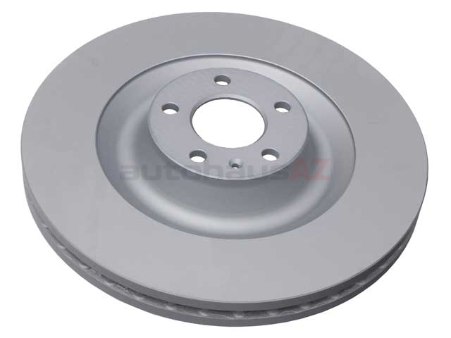 AT-4F0615301J ATE Coated Disc Brake Rotor; Front